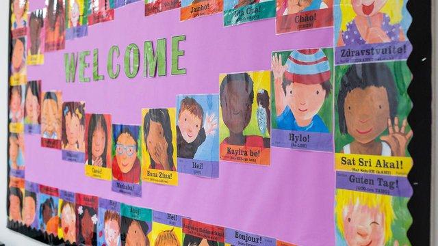 Classroom display at St Pauls CofE Primary School - welcome 1280x720.jpg