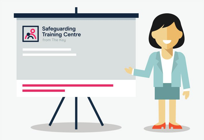Safeguarding training centre - presentation graphic
